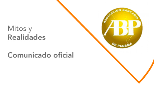 Comunicado oficial de la Asociación Bancaria de Panamá